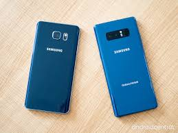 Install Android Nougat On Galaxy Note 8 0 Samsung Galaxy Note 8 Vs Galaxy Note 5 Should You Upgrade