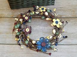flower candle rings button flower candle ring adorable candle ring with metal