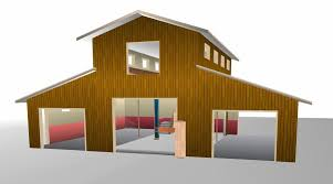 barn shop plans pole buildings shop buildings monitor roof style pinteres