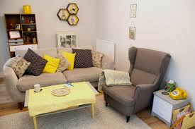 decor wingback chair and sectional sofa with coffee table also