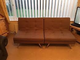 Clik Clak Sofa Bed by Hygena Duo 2 Seater Clic Clac Sofa Bed Bought From Argos At