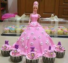 barbie birthday cakes and cupcakes best images collections hd