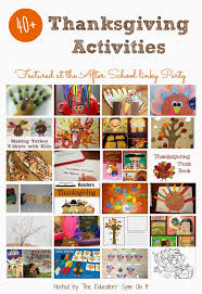 thanksgiving activities for school aged the educators spin on it