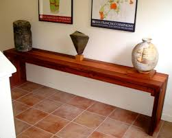 Narrow Hallway Table by Maynard Hallway Tables Built To Last Decades Forever Redwood