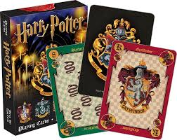 harry potter house crests playing cards u2013 the fandom frenzy