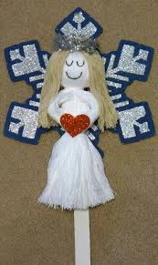 Diy String Doll Angel Christmas Craft