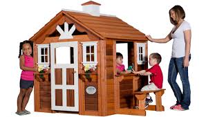 Backyard Discovery Winchester Playhouse Backyard Discovery Playhouse For 28 Wooden Playhouses The Best