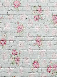 Pink Brick Wall 5x7ft White Photography Backdrop Brick Wall Flowers For B Https