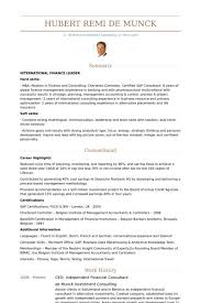 financial consultant resume consultant resume example financial