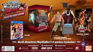one piece one piece burning blood ps4 collector u0027s edition announced neogaf