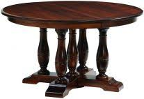 queen anne dining tables countryside amish furniture