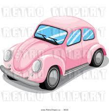 volkswagen beetle clipart pink car clip art 40
