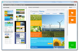 email templates software screenshots email newsletter templates