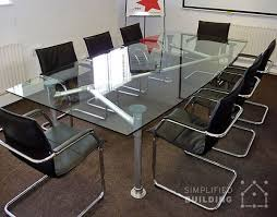 Glass Top Conference Table 5 Modern Conference Table Ideas Simplified Building