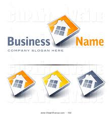 royalty free stock avenue designs of home logos