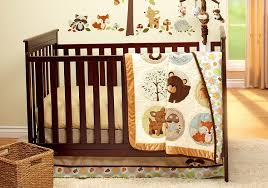 Crib Bedding Collection by Amazon Com Carter U0027s Woodland Friends Collection 4 Piece Crib
