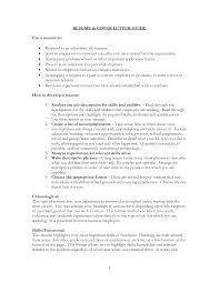 Do A Resume Make A Cover Letter For A Resume Resume Cover Letter And Resume