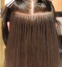 bonding hair different methods of hair extensions of micro ring fusion