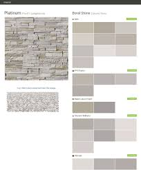 platinum pro fit ledgestone cultured stone boral stone behr