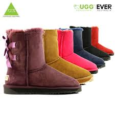do womens ugg boots run big ugg boots sheepskin 100 australian wool back bow