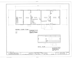 file second floor plan and attic plan kingston upon hill kitts