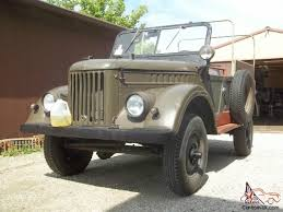jeep military 1969 gaz69 trooper carrier 4x4 cold war russian