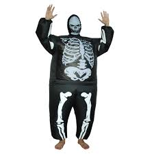 online shop inflatable costume halloween skeleton costume party