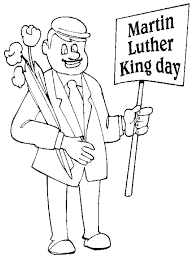 articles with martin luther king jr coloring pages for