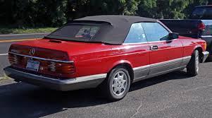 1986 mercedes 560 sec file 1986 mercedes 560 sec convertible conversion rear jpg