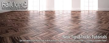 3 railclone parquet floor tutorials 3d architectural