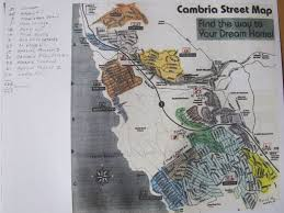 Map Of Cambria Ca Water Wait List Map Cambria Forest Committee