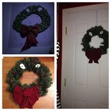 tim burton u0027s nightmare before christmas wreath cheap and easy