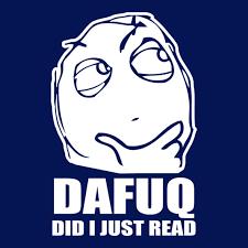 Dafuq Meme - dafuq did i just read meme central t shirts