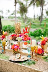 tropical wedding theme the most tropical wedding theme you ve seen weddingsonline