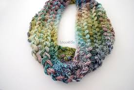 hairpin lace crochet hairpin lace infinity scarf free pattern and tutorial