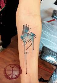 pinterest watercolour geometric tattoos and tattoo artists
