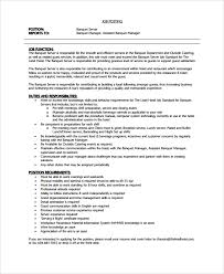 Sample Server Resume by Sample Resume Hotel Waiter Templates