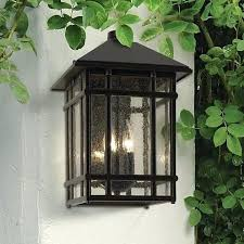 mission style outdoor wall light craftsman style exterior lighting 3109 craftsman exterior regarding