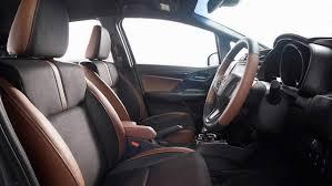 car seat covers for honda jazz honda jazz facelift makes global debut in