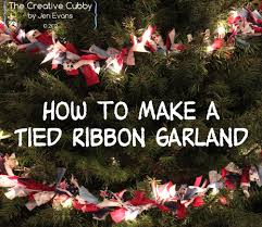 make christmas tree garland christmas lights decoration