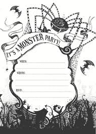 printable halloween party invitations u2013 unitedarmy info