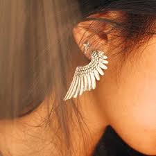 wing earrings wing earrings on the hunt