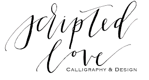 kitchen canisters scripted love calligraphy