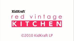 Kidkraft Kitchen Red - kidkraft vintage play kitchen red walmart com
