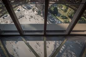 glass floor explore the first floor of the eiffel tower official website