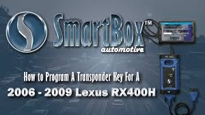 lexus arlington heights service how to program a transponder key to a 2006 2009 lexus rx400h