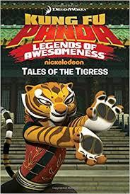 amazon tales tigress kung fu panda tv 9781481428286