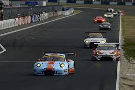 old racing porsche lester u0027fizzing u0027 after scoring maiden super gt podium at okayama