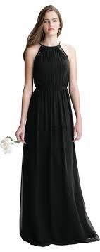 bill levkoff bill levkoff 1408 chiffon halter bridesmaid dress madamebridal