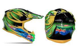 motocross helmets australia motocross m2r unveil team australia mxon helmet and t shirt